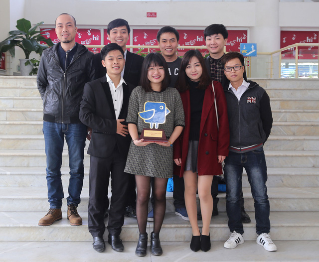 Bóng đá Kungfu – Game mobile Việt vô địch Giải thưởng Chim Xanh 2015