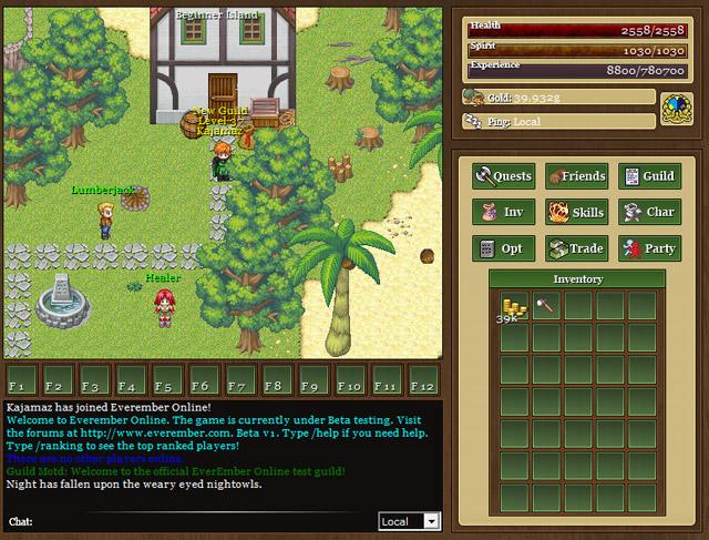 EverEmber Online – Game phong cách 8 bit gợi nhớ hoài niệm