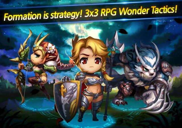 Wonder Tactics – Game mobile hot của ông lớn Com2uS chính thức ra mắt