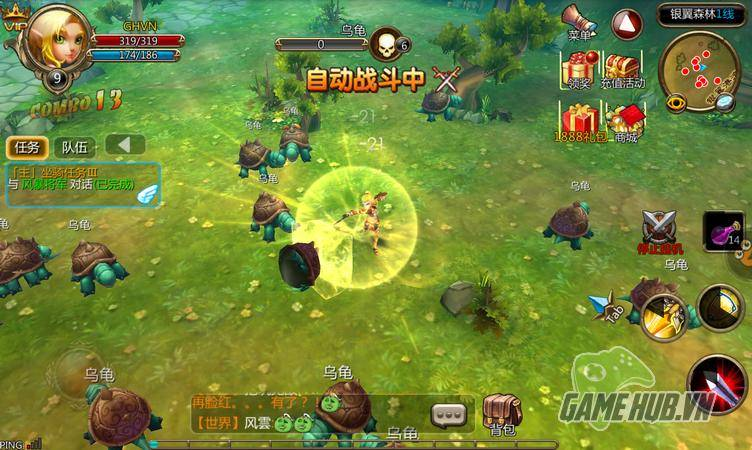 Bộ Lạc Phong Bạo – Game mobile đậm chất Tây phương 31
