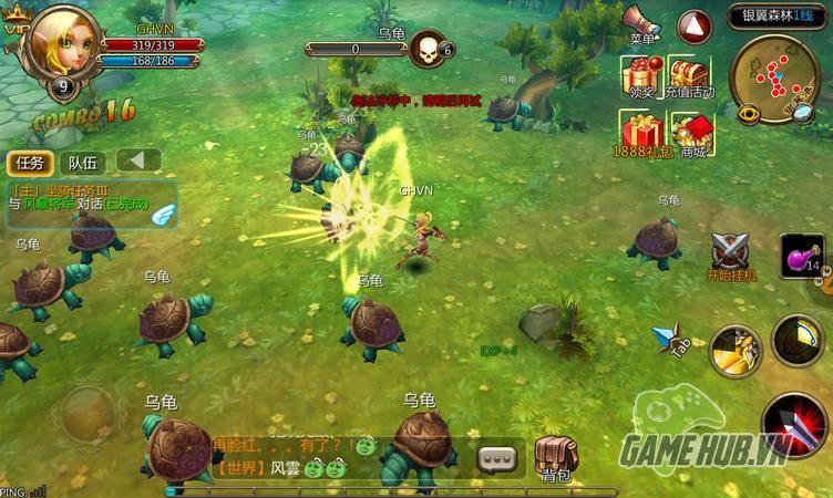 Bộ Lạc Phong Bạo – Game mobile đậm chất Tây phương