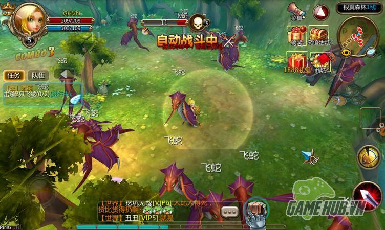 Bộ Lạc Phong Bạo – Game mobile đậm chất Tây phương 13