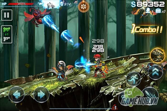 Hợp Kim Tử Đạn – Game mobile bắn súng gợi nhớ về game Rambo lùn