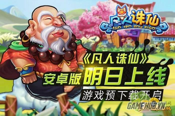 Phàm Nhân Tru Tiên xuất hiện phiên bản game mobile 2D kute 7