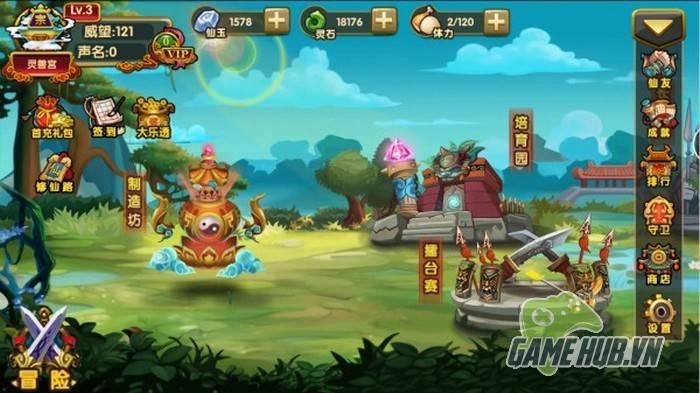 Phàm Nhân Tru Tiên xuất hiện phiên bản game mobile 2D kute 5