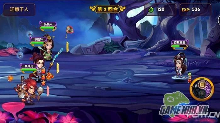 Phàm Nhân Tru Tiên xuất hiện phiên bản game mobile 2D kute 3