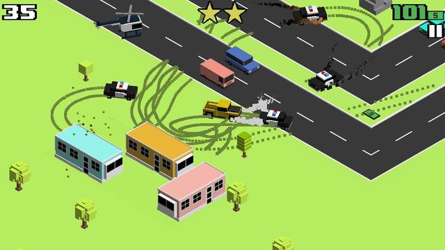 Smashy Road: Wanted – GTA phiên bản retro trên nền di động