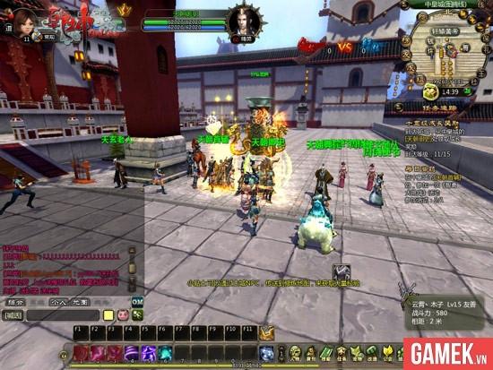 Càn Khôn Online - MMORPG 3D lấy bối cảnh thần thoại 3