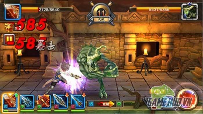 Vũ Khí Đại Sư - Game mobile đề cao việc chế tạo vũ khí